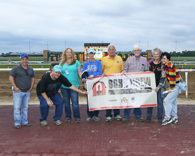 Jay Holden Stable named Barn Crew of the Month  at Indiana Grand Racing & Casino