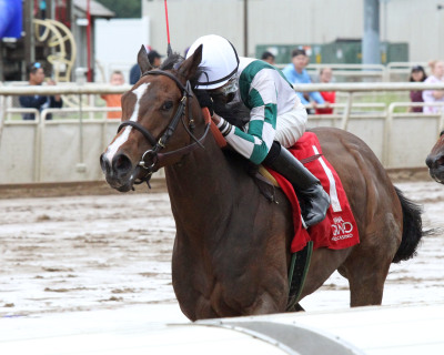 Moves Like Magic Wins $100,000 Hoosier Breeders Sophomore Fillies at Indiana Grand Racing & Casino