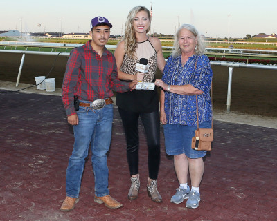 "Jesus Olivo named ""Groom of the Week"" at Indiana Grand Racing & Casino"