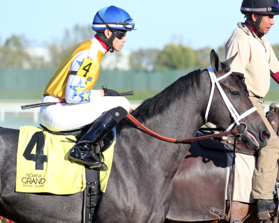 Super effort by Super Jen in Indiana Stallion Stakes  at Indiana Grand Racing & Casino