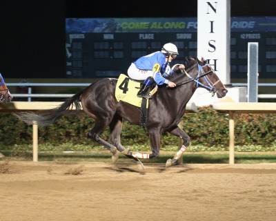Apprentice Kendal Sterritt Scores First Stakes Win  in ITOBA Stallion Season at Indiana Grand