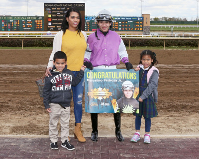 Pedroza Jr. scores 1,000th career win  at Indiana Grand Racing & Casino