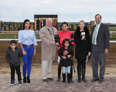 Pedroza Wins Leading Jockey Title  at Indiana Grand Racing & Casino