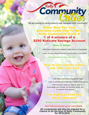 Kelly Community Cuties Contest Promo