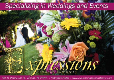 Expressions Florist Magazine Ad