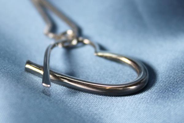 Graduated Heart Pendant