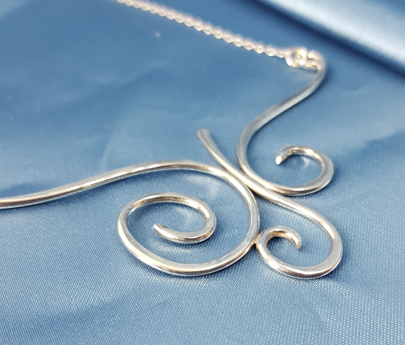 Swirling Necklace