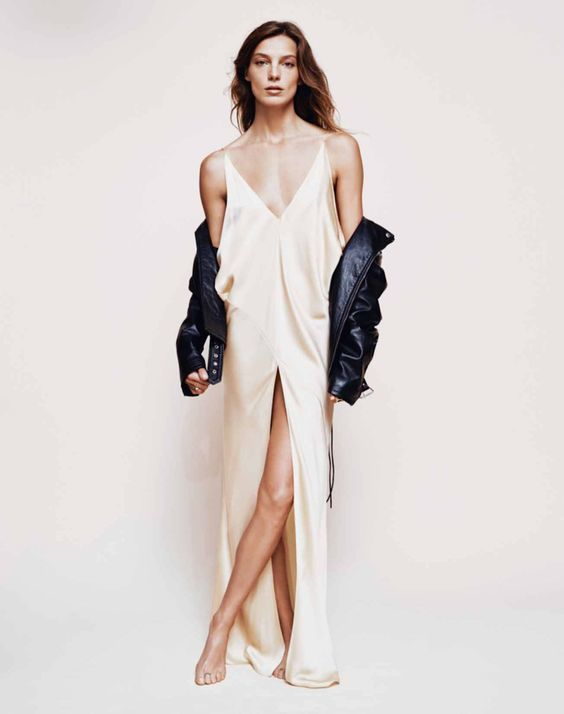 The Classic Slip Dress0