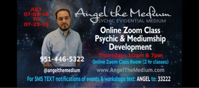 Angel the Medium | Classes, Circles, Events, Expos and Workshops