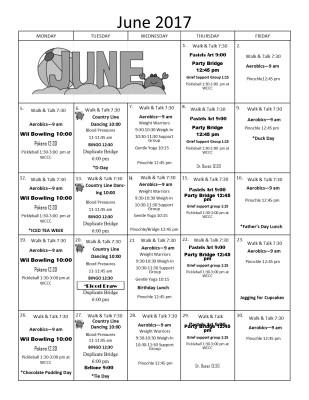 June Activites