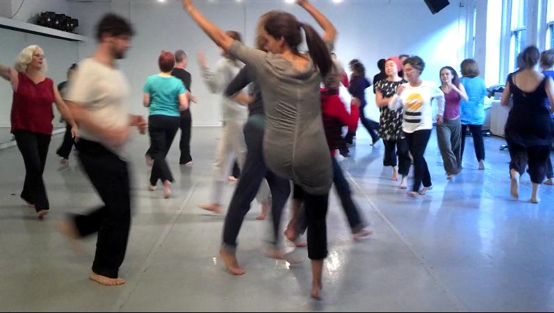 Daria Halprin, Planetary Dance SOMAfest NYC