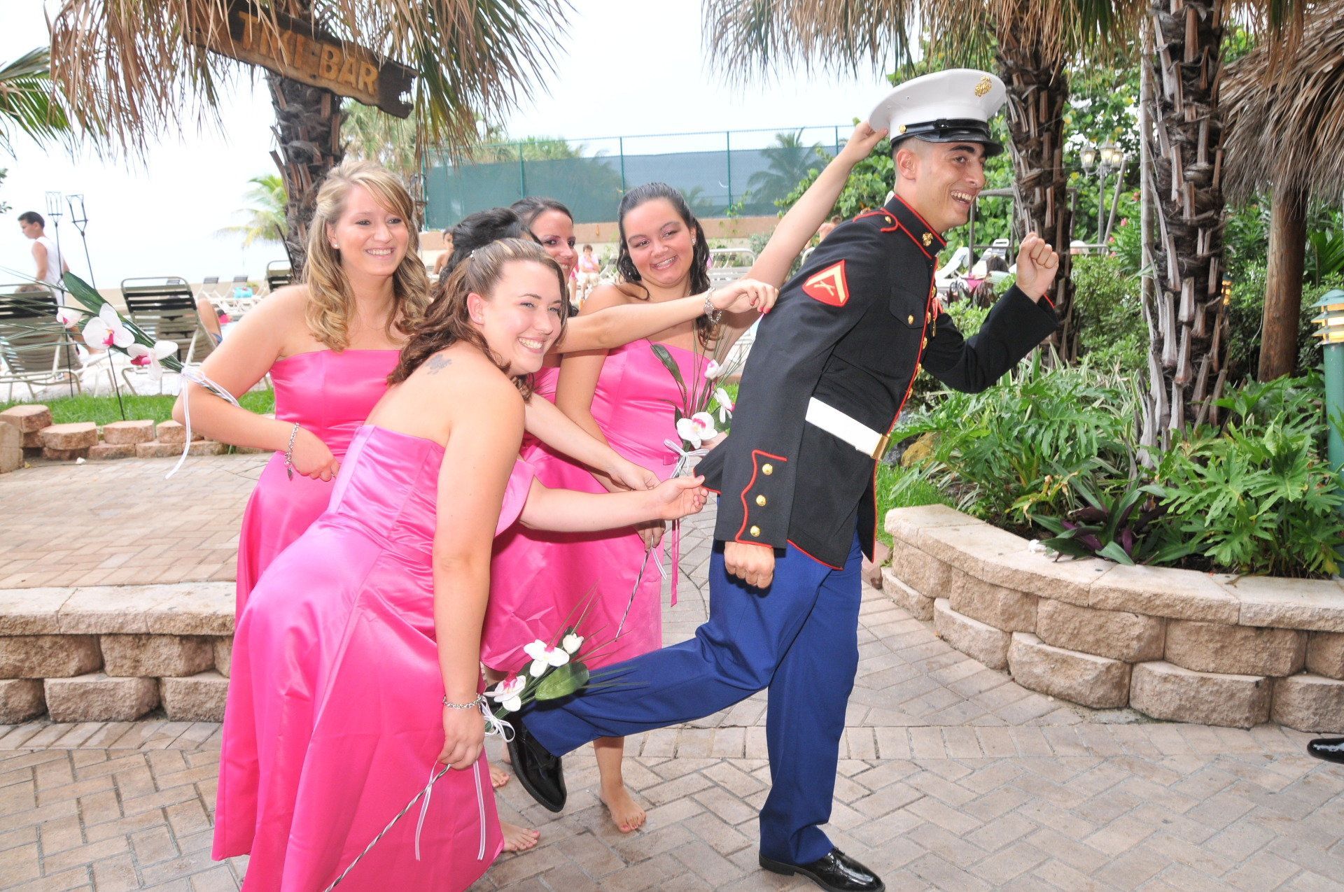marines, usmc, police, firefighter, officer, party, event planner, save the date