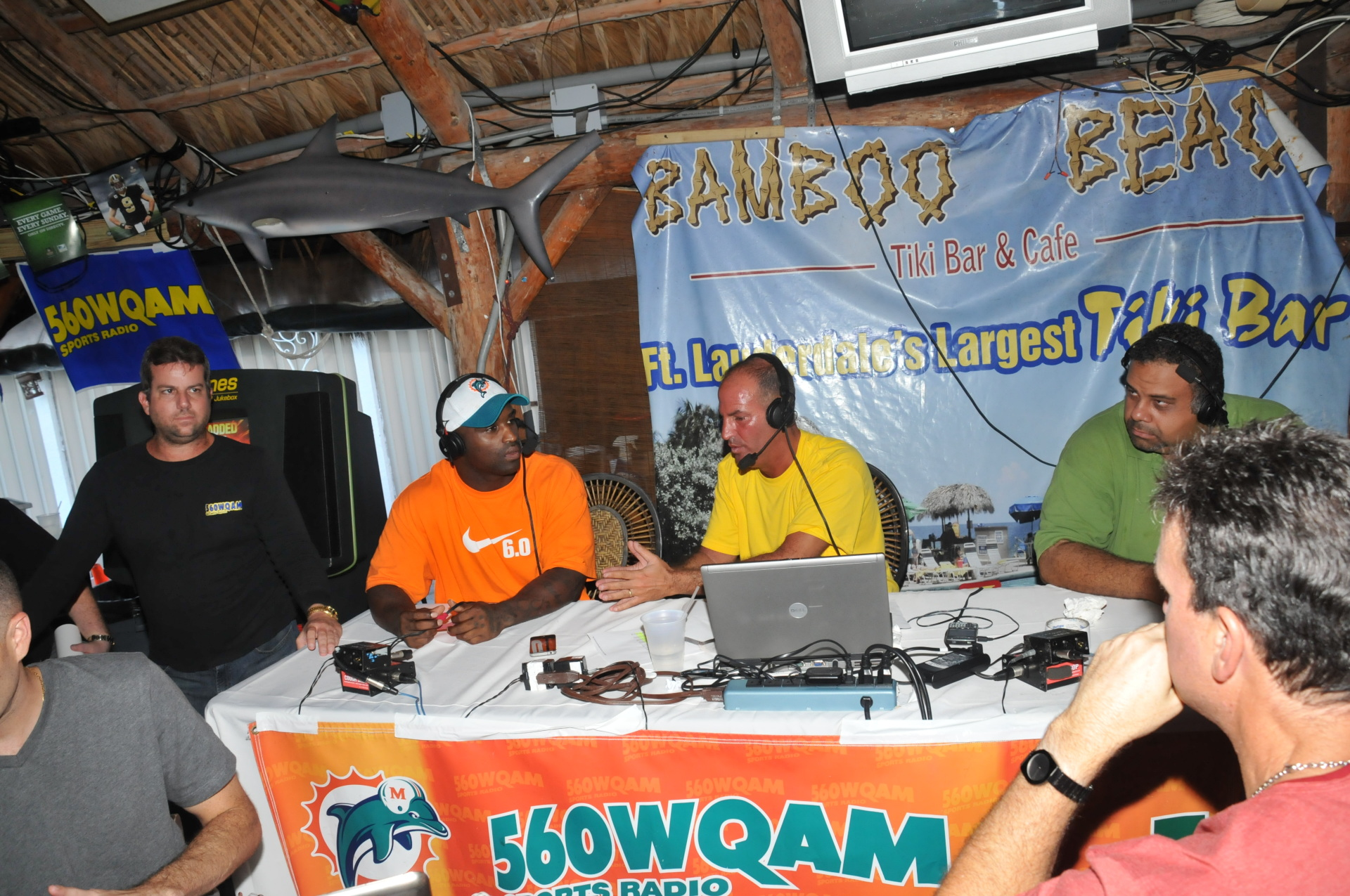 football, ricky williams, miami, dolphins, photo, radio, new orleans, fort lauderdale, show
