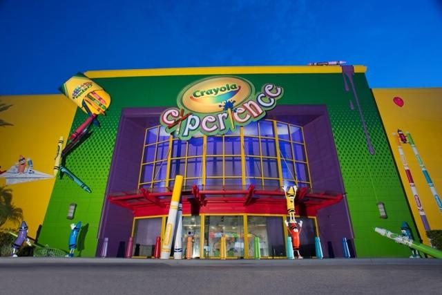 Crayola Experience Mural - Orlando, FL