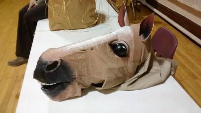 RHT 2015 - horse head prop