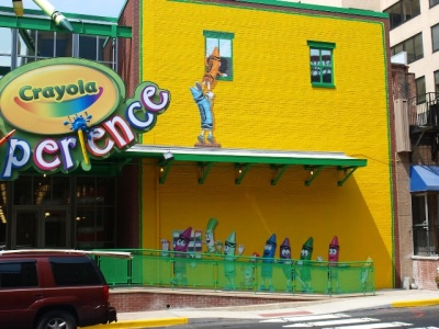 Crayola Experience Mural - Easton, PA