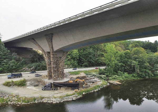 Brattleboro's new bridge