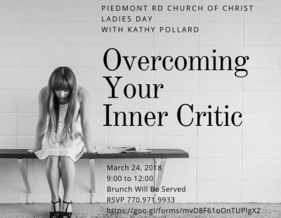 """Overcoming Your Inner Critic"""