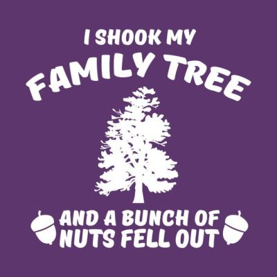 Family Tree bunch of nuts t-shirt