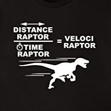 distance raptor time raptor velociraptor