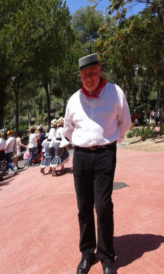 Paul S. Bradley at San Isidro, Nerja