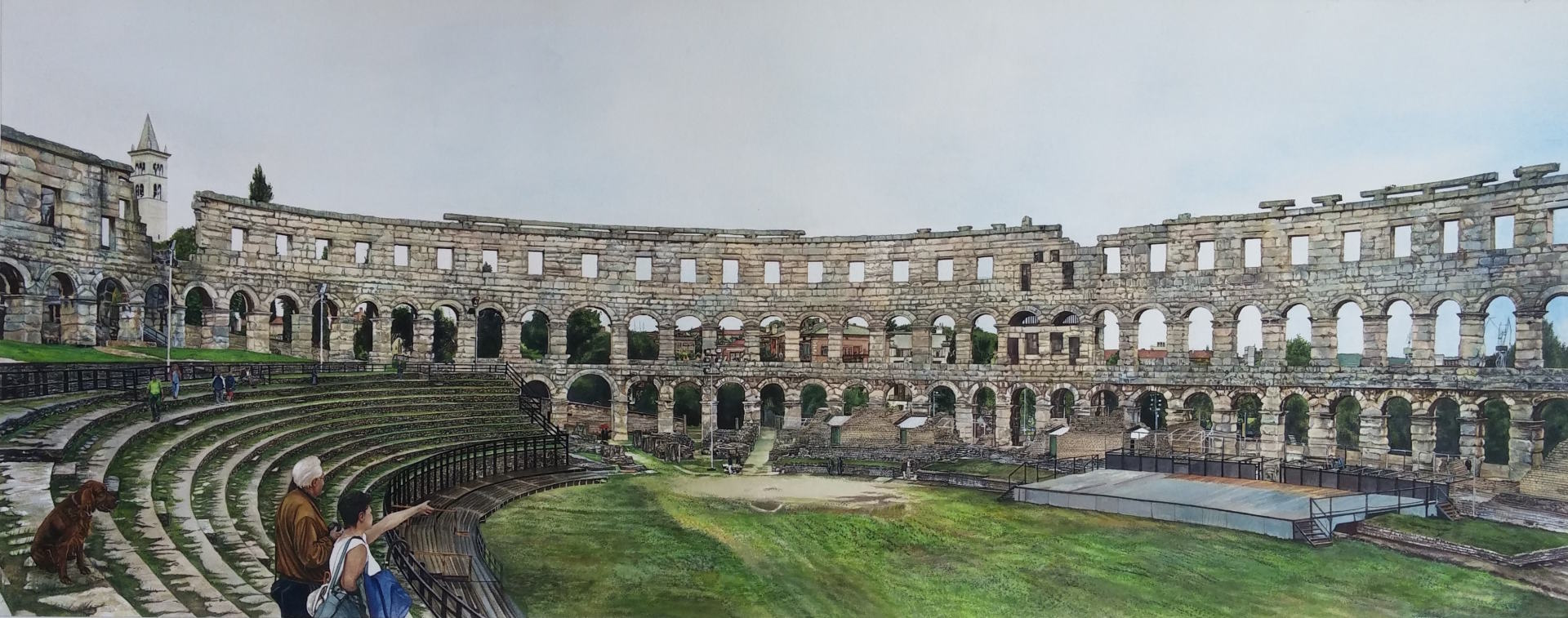 Colosseum Arena, Pula Croatia