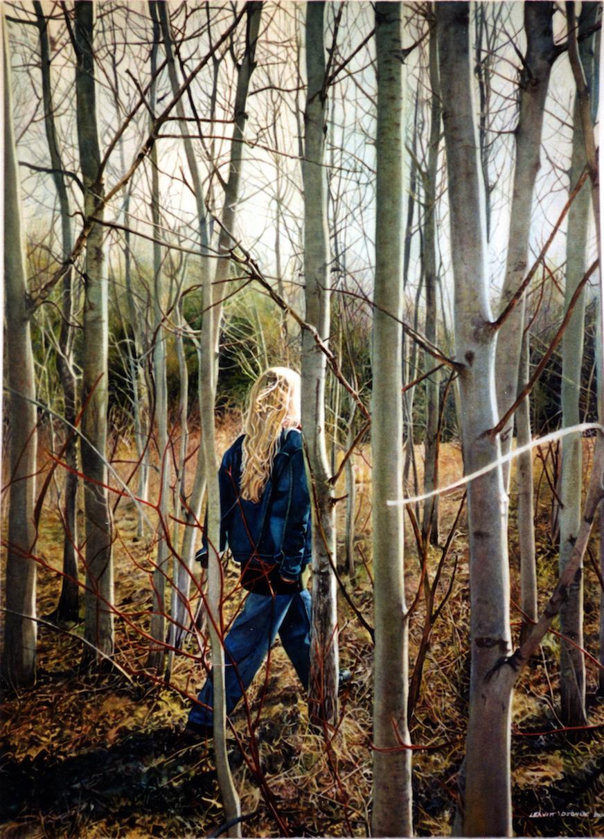 A Walk In The Poplars, Keswick NB Canada