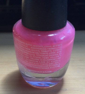 FORMALDEHYDE IN NAIL POLISH, WHAT'S THE RISK?