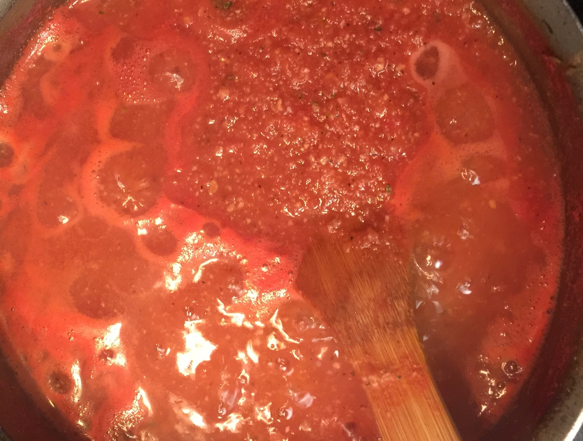 That home made sauce