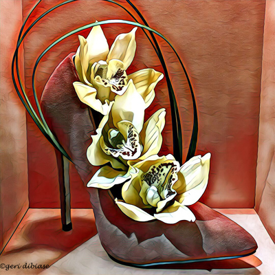 Orchids & a Stiletto