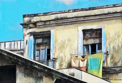 Laundry Day in Cienfuegos