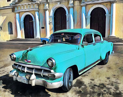 The Turquoise Taxi, Cienfuegos
