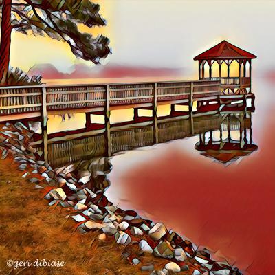 Red Sky at Silver Lake