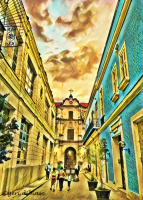 Walking Old Havana