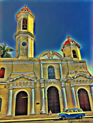 The Cathedral in Cienfuegos