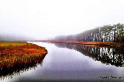 Fog at Love Creek