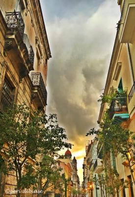 Clouds Rolling In. . Havana, Cuba