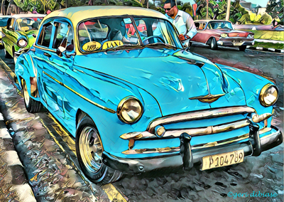 The Turquoise Chevy
