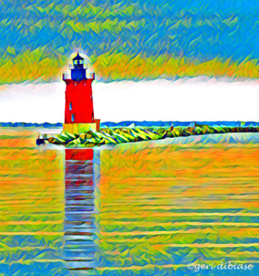High Noon at Breakwater Light