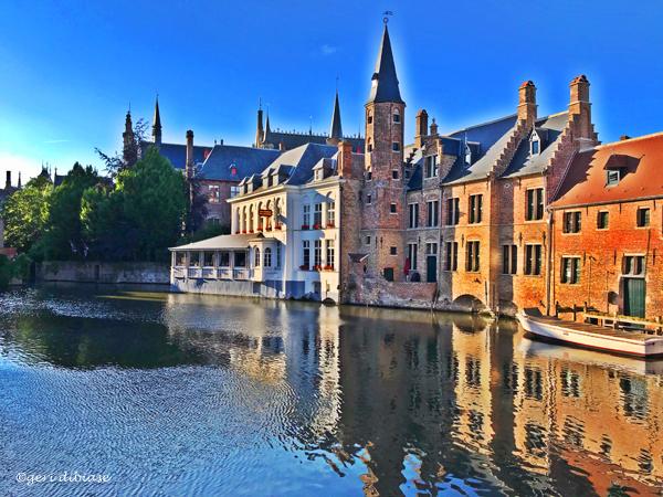 Evening in Bruges