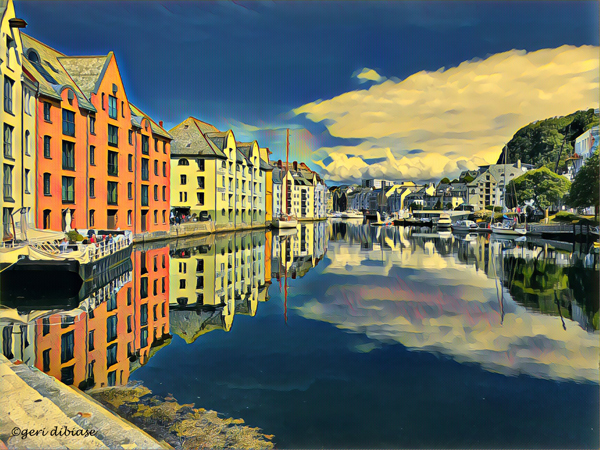 Afternoon in Alesund