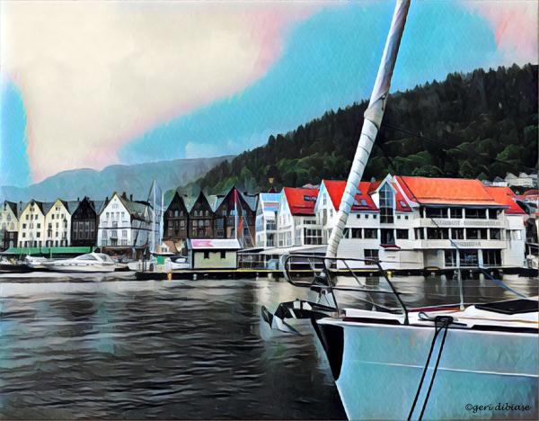 Cloudy Day in Bergen
