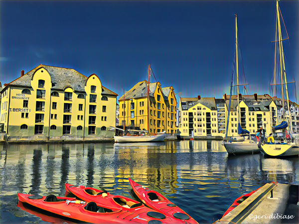 Kayaking in Alesund