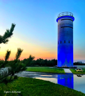 Our Blue Tower