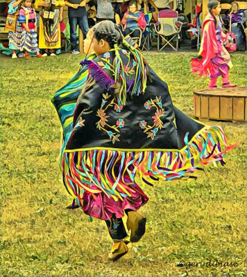 The Shawl Dance