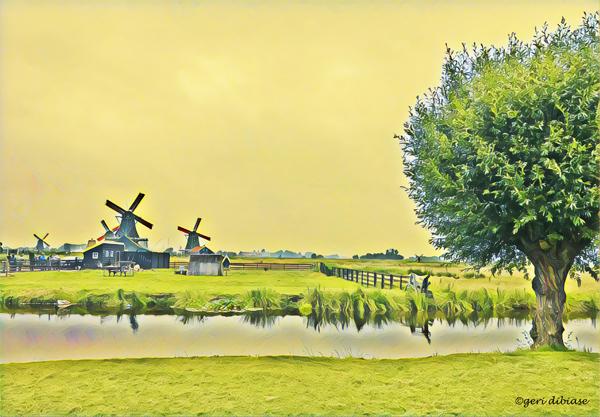 Overlooking Zaanse Schans