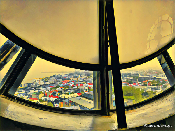 Viewing Reykjavik through the Clock