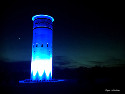 Our Blue Tower & Venus