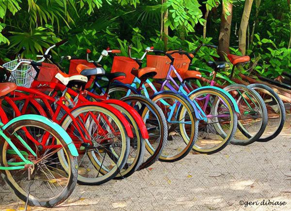 The Bikes of Tulum