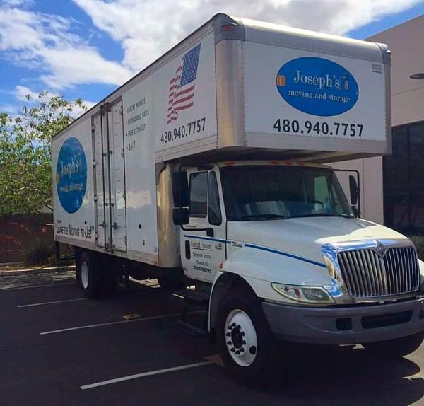 Arizona Moving company truck